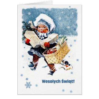 polnische weihnachts gru karten einladungen. Black Bedroom Furniture Sets. Home Design Ideas