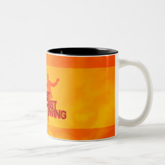 West Coast Swing Zweifarbige Tasse