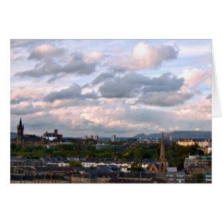 West End Glasgow Karte