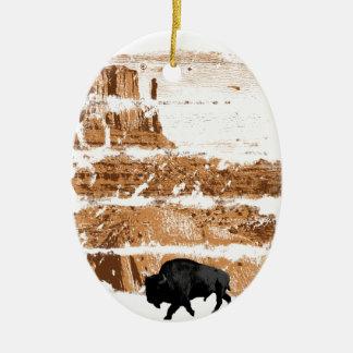 West Keramik Ornament