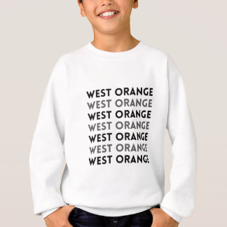 West Orange New-Jersey Fliesen-Entwurf Sweatshirt