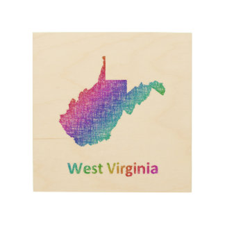 West Virginia Holzdruck