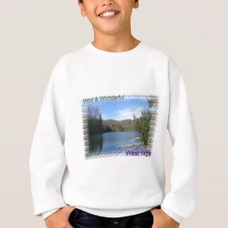 West Virginia rustikaler See Sweatshirt
