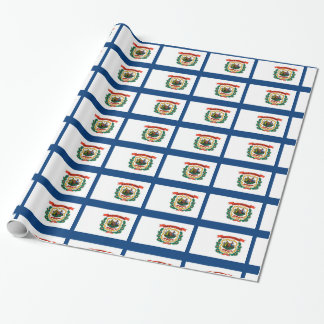 West- Virginiaflagge Geschenkpapier