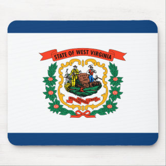 West- Virginiaflagge Mousepad