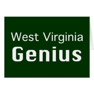 West- Virginiagenie-Geschenke Karte