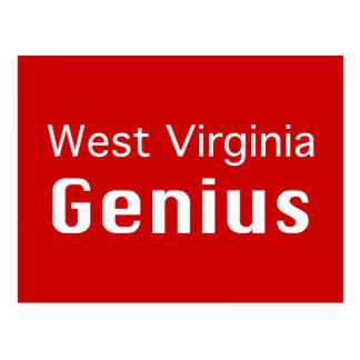 West- Virginiagenie-Geschenke Postkarte