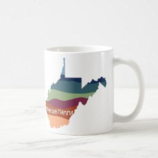 West- VirginiaHerbstfarben-Tasse Kaffeetasse
