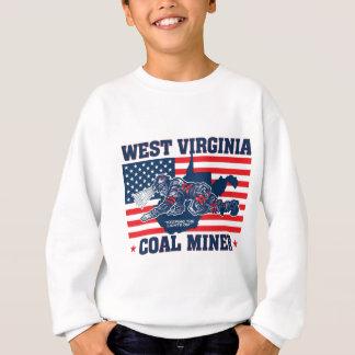 WEST- VIRGINIAkohlen-BERGMANN-ROTES WEISSES UND Sweatshirt