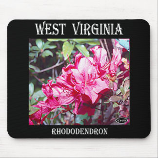 West- Virginiarhododendron-Maximum Mousepad