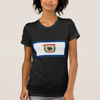 West- VirginiaStaats-Flagge T-Shirt