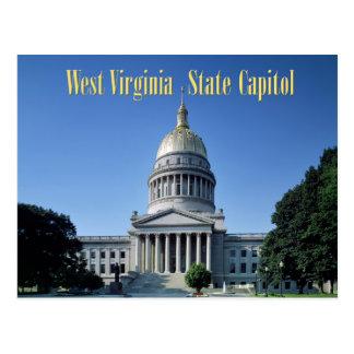 West- VirginiaStaats-Hauptstadt Postkarte