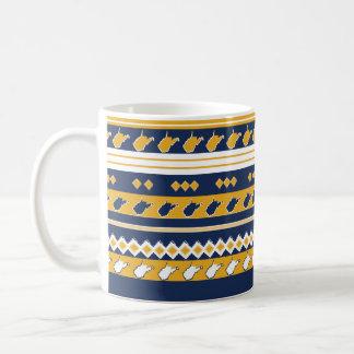 West- VirginiaStaatsstolz-Tasse Kaffeetasse