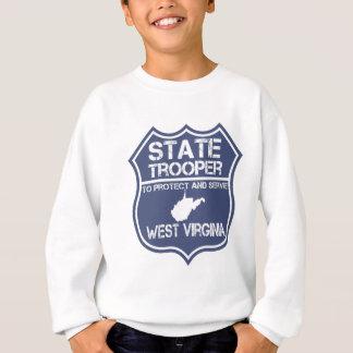 West- VirginiaStaatTrooper schützen sich und Sweatshirt