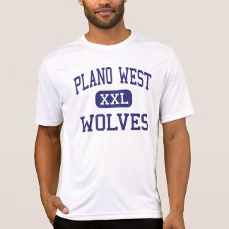 West- Wölfe - Highschool Plano - Plano Texas T-Shirt