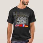 Westberlin - die Mauer von Berlin T-Shirt