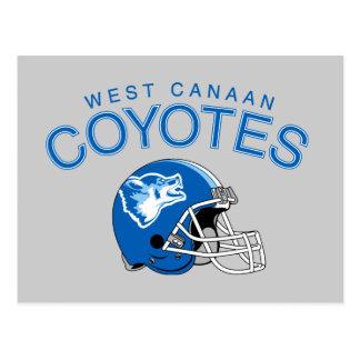 WestCanaan Kojoten Postkarte
