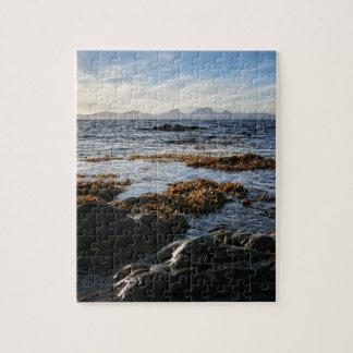 Westcoast von Schottland, Insel von Jura Puzzle
