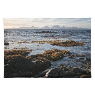 Westcoast von Schottland, Insel von Jura Stofftischset