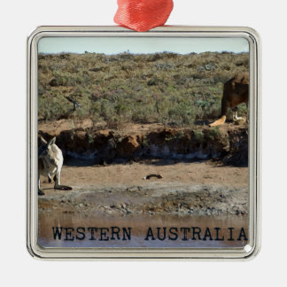 Western Australien Silbernes Ornament