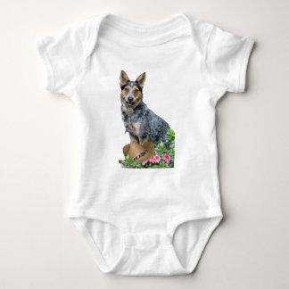 Western-australisches Vieh-Hundekleid u. Baby Strampler