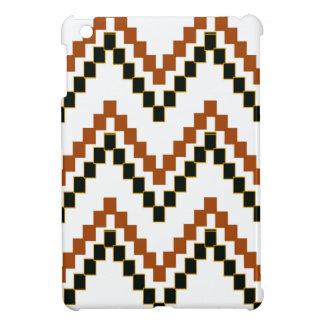 Western-Block Zickzack iPad Mini Hülle