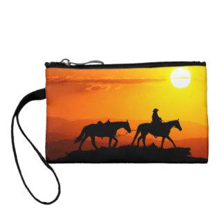Western Cowboy-Cowboy-Texas-Westernland Münzbeutel