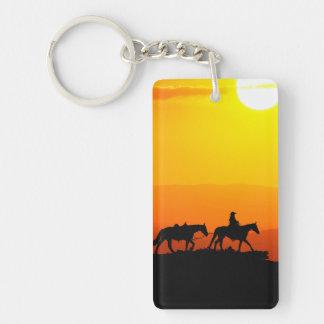 Western Cowboy-Cowboy-Texas-Westernland Schlüsselanhänger