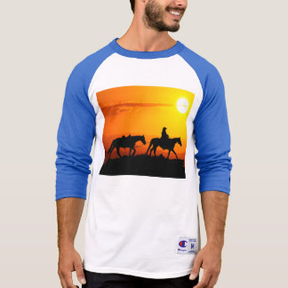 Western Cowboy-Cowboy-Texas-Westernland T-Shirt