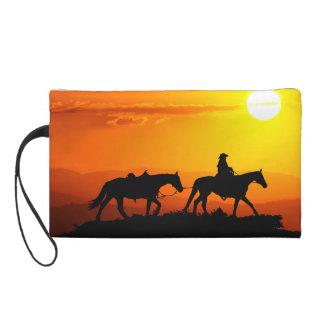 Western Cowboy-Cowboy-Texas-Westernland Wristlet Handtasche