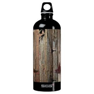 Western-Cowboystiefel Land der ursprünglichen Aluminiumwasserflasche