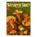 Western-Geschichten-Zeitschrift-Weihnachten 1931 Karten