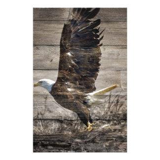 Western-Land patriotischer amerikanischer kahler Briefpapier