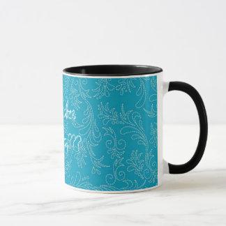 Western-Land-Stich-Muster-Kaffeetasse-Tasse Tasse