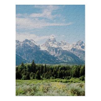 Western-Länder Postkarte