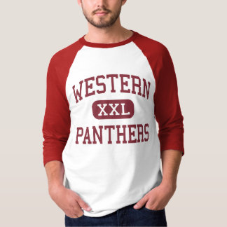 Western - Panther - Highschool - Parma Michigan T-Shirt