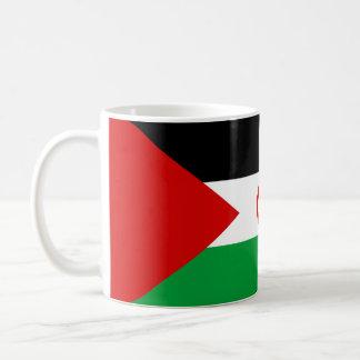 Western- SaharaLandesflaggenationssymbol lang Kaffeetasse