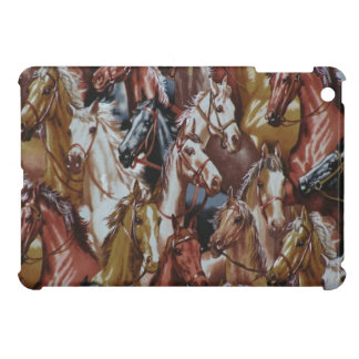 Western-Thema-PferdiPad mini glatter Endfall iPad Mini Etui