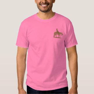 Western-Vergnügen Besticktes T-Shirt