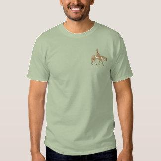 Western-Vergnügens-Pferd Besticktes T-Shirt