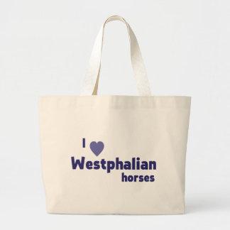 Westfälische Pferde Leinentasche