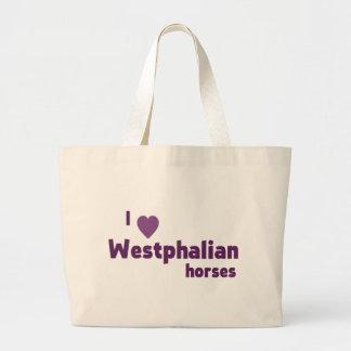 Westfälische Pferde Leinentaschen