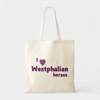 Westfälische Pferde Tragetasche