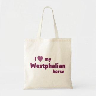 Westfälisches Pferd Einkaufstasche