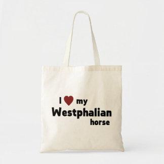 Westfälisches Pferd Leinentasche