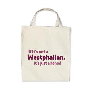 Westfälisches Pferd Taschen