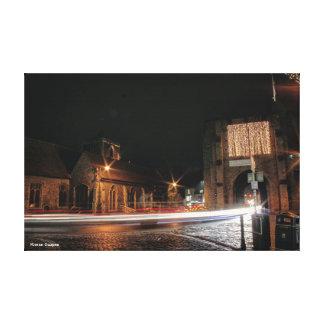 Westgate ragt Canterbury hoch Leinwanddruck
