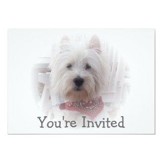 Westhochland-Terrier-Einladung