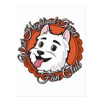 Westhochland-Terrier-Fanclub Postkarte