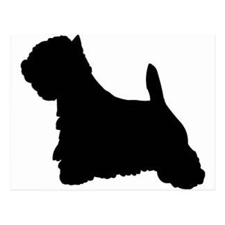 Westhochland-Terrier-Hund Postkarten